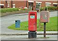 J3569 : Pillar box and drop box, Belfast by Albert Bridge