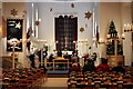 TQ2995 : Aisle and Altar, St Thomas's Church, Oakwood, London N14 by Christine Matthews