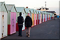 TQ2804 : Huts and Humans in Hove by Roger A Smith