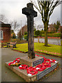 SD8103 : Rectory Lane War Memorial by David Dixon