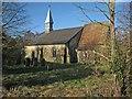 TL6156 : Westley Waterless parish church by John Sutton