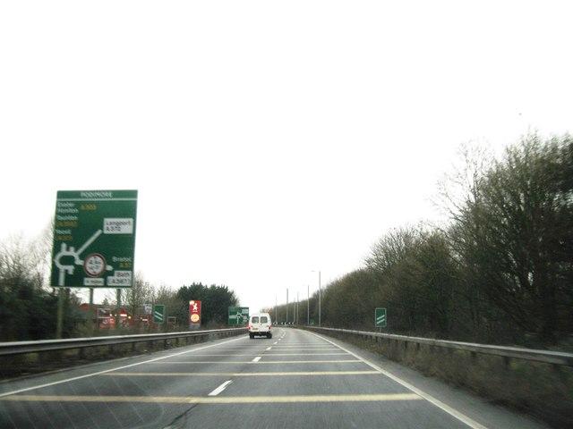 A303 Podimore Roundabout Alex Mcgregor Cc By Sa 2 0