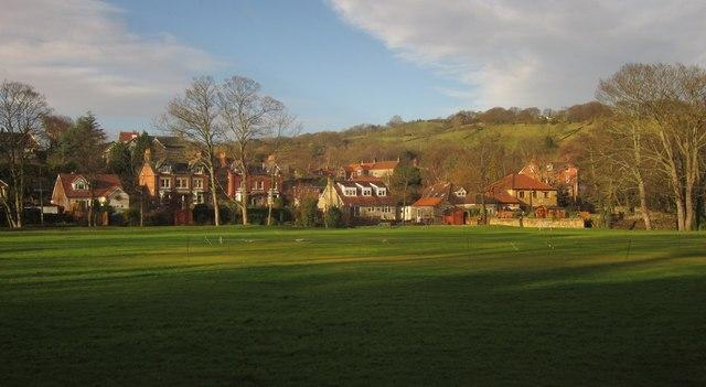 Cricket ground, Sleights