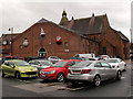 SJ7560 : Sandbach market hall by Stephen Craven