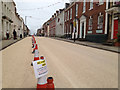 SP2864 : High Street resurfaced for the Olympic Torch Relay by Robin Stott