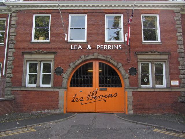Entrance of Lea & ...