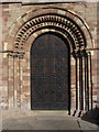 SO7137 : At Ledbury - Norman doorway on St Michael & All Angels Church by Colin Park