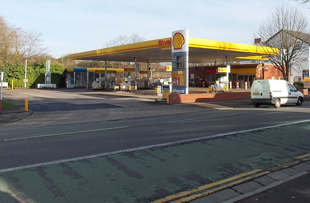 Shell garage and shop chepstow road jaggery geograph britain and ireland - Find nearest shell garage ...