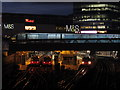 TQ3884 : Stratford Station, London at night by Colin Park