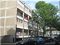 TQ2982 : Flats on Churchway NW1 by Robin Stott