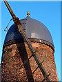 TL0468 : Cap details of Upper Dean Windmill by Michael Trolove