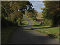 SP1306 : View northwest along Salt Way, northwest of Coln St Aldwyns by Colin Park