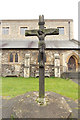 TQ2486 : All Saints, Church Walk - Calvary by John Salmon