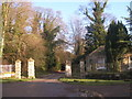 SE4038 : Gateway and lodge at the entrance to Potterton Park by John Slater