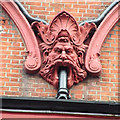 TQ2881 : Gargoyle, Chiltern Street by Keith Edkins