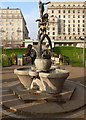 TQ2980 : The Diana Fountain, Green Park by Oliver Dixon