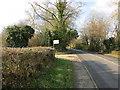 TQ1928 : Farm Entrance by The Saunterer