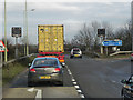 SP5519 : Wendlebury Junction (M40/A34) by David Dixon