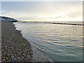 TR2034 : Early morning, Sandgate beach by Robin Webster