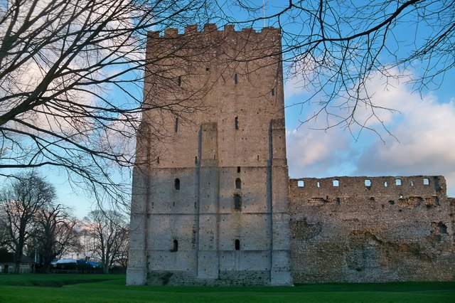 Portchester Castle Keep