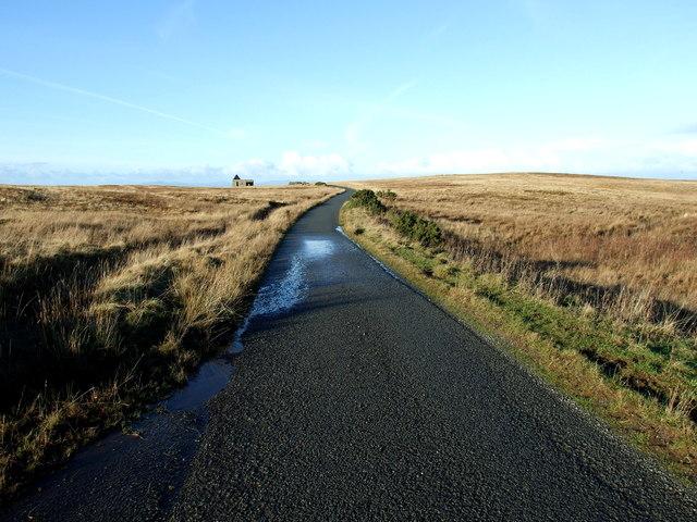 The road to Bornesketaig