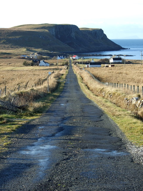 Looking towards Camas Mòr
