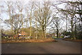 SJ8381 : Racecourse Road carpark Lindow Common by Peter Turner