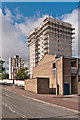 TQ4768 : Alkham and Horton Towers demolition by Ian Capper