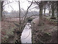 NY9364 : Cockshaw Burn, Tyne Green, Hexham by Les Hull
