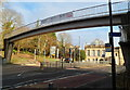SO8505 : Merrywalks footbridge, Stroud by John Grayson