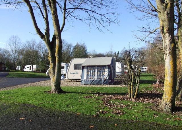 Cirencester Caravan Club site