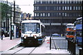 SJ8498 : Tram at Piccadilly Gardens by Malc McDonald