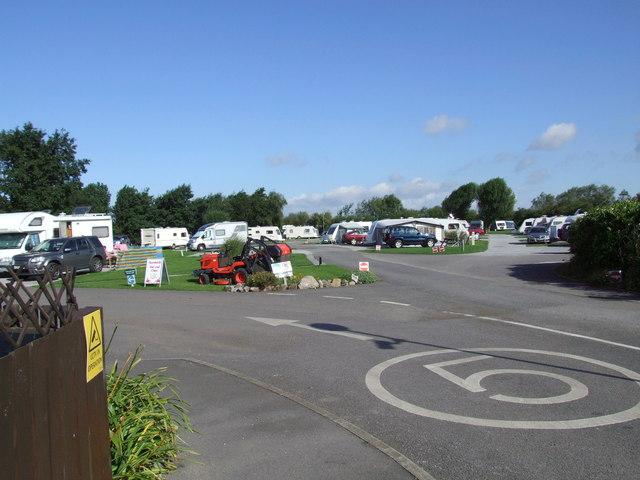 Hurn Lane Caravan Club site