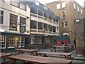 TQ3280 : The George Inn, London Bridge by Derek Voller