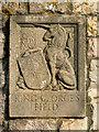 SX9272 : St George's Field entrance heraldic panel: unicorn by Robin Stott