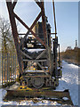 SD7606 : Mount Sion Steam Crane - Manchester, Bolton and Bury canal by David Dixon