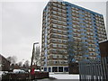 TA0528 : White City Flats off Anlaby Road, Hull by Ian S