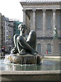 SP0686 : Two women in bronze, Victoria Square, B2 by Robin Stott