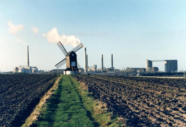 Horizon With Cement : Cement factory on the horizon des blenkinsopp