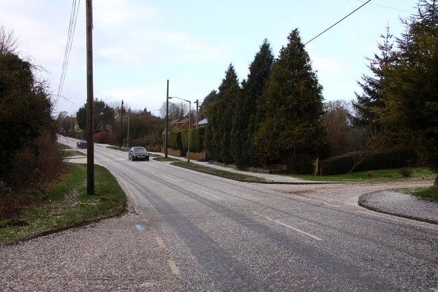 Marlow Road in Lane End