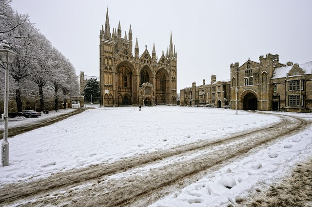 Peterborough Cathedral - west front