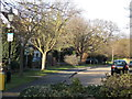 TQ3373 : View of Frank Dixon Way from Dulwich Common by Robert Lamb