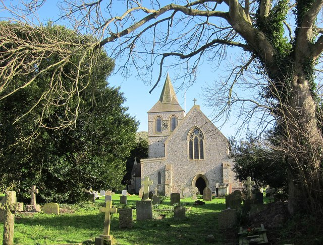 The Church of St Nicolas, Pevensey