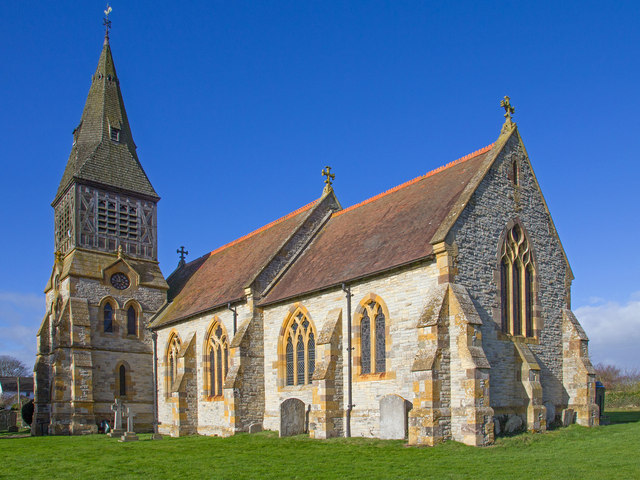 St Andrew's Church, Te... Anne Hathaway