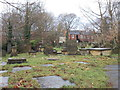 SE3036 : Burial Ground - viewed from Church Lane by Betty Longbottom