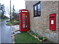 SO9937 : Ashton under Hill: postbox № WR11 158 and phone by Chris Downer