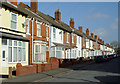 SO9197 : Terraced housing in Blakenhall, Wolverhampton by Roger  Kidd