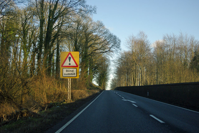 Blind summit on A31