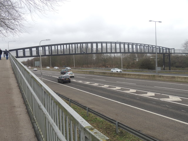 Footbridge over A27 - Bedhampton
