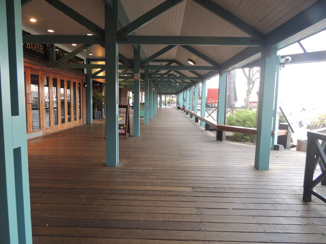 The Board walk - Port Solent